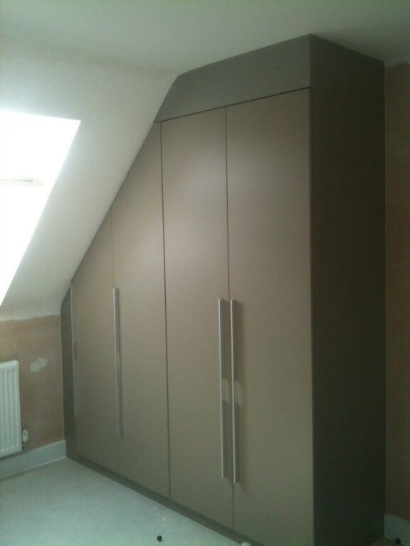 Recently fitted hinged wardrobes for Fitted bedroom furniture 0 finance