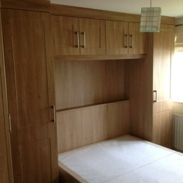 Odessa Oak Fitted Bedroom in Sheffield S21