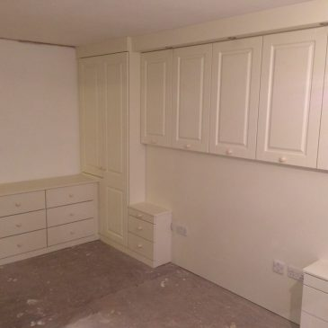 Fitted Bedroom, white